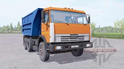 KamAZ 55111 with trailer for Farming Simulator 2017