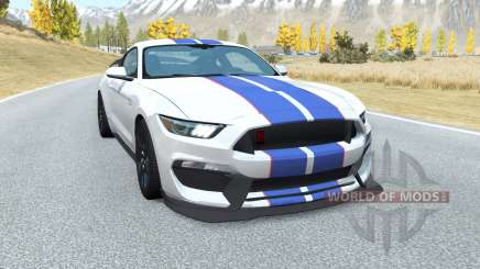 Shelby GT350R Mustang v2.0 for BeamNG Drive