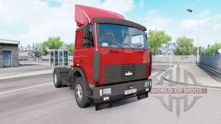 MAZ 54323 v1.33 for Euro Truck Simulator 2