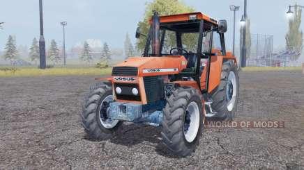 URSUS 914 soft red for Farming Simulator 2013