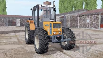 Renault 103-54 soft orange for Farming Simulator 2017