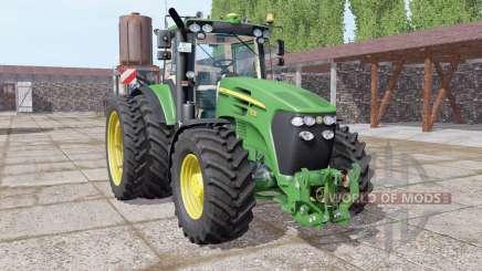 John Deere 7830 dual rear for Farming Simulator 2017