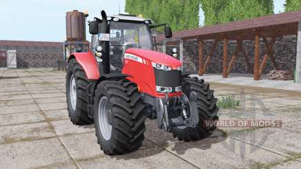 Massey Ferguson 7726 wheels with weights for Farming Simulator 2017