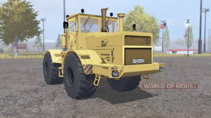 Kirovets K-700A yellow for Farming Simulator 2013