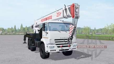 KamAZ 43118-46 crane for Farming Simulator 2017