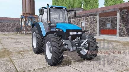 New Holland TM150 vivid blue for Farming Simulator 2017