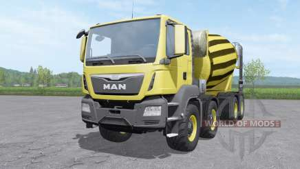 MAN TGS mixer 2015 v1.0.2 for Farming Simulator 2017