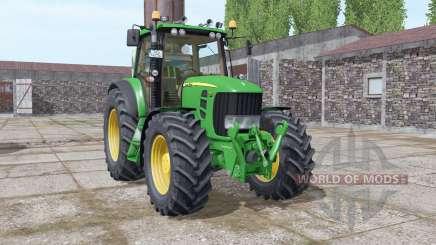 John Deere 7530 Premium v5.0 for Farming Simulator 2017