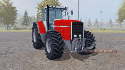 Massey Ferguson 8140 interactive control for Farming Simulator 2013