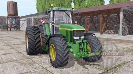 John Deere 7810 dual rear for Farming Simulator 2017