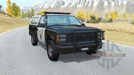 Gavril D-Series California Highway Patrol v1.5 for BeamNG Drive