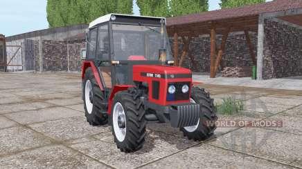 Zetor 7745 strong red for Farming Simulator 2017