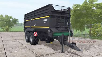 Krampe Bandit 750 schwarzer for Farming Simulator 2017