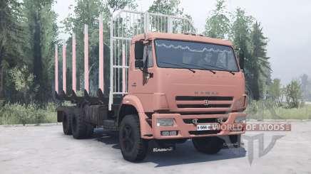 KamAZ 45143 for MudRunner