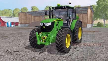 John Deere 6125M interactive control for Farming Simulator 2015