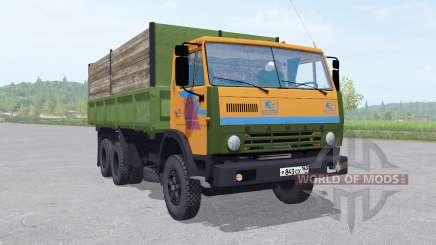 KamAZ 55102 with a trailer v1.2 for Farming Simulator 2017