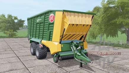 Lely Tigo XR 75 D dark lime green for Farming Simulator 2017