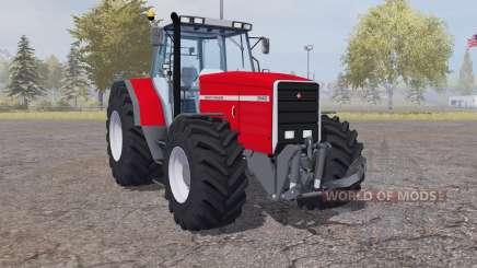 Massey Ferguson 8140 strong red for Farming Simulator 2013