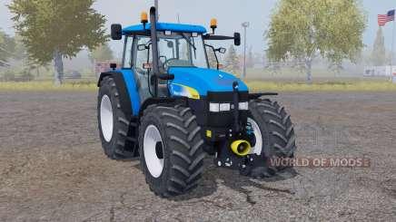 New Holland TM 175 vivid blue for Farming Simulator 2013