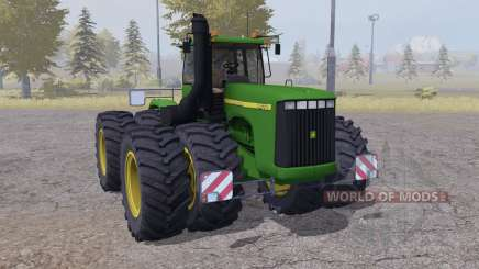 John Deere 9400 twin wheels for Farming Simulator 2013