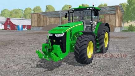 John Deere 8370R interactive control for Farming Simulator 2015