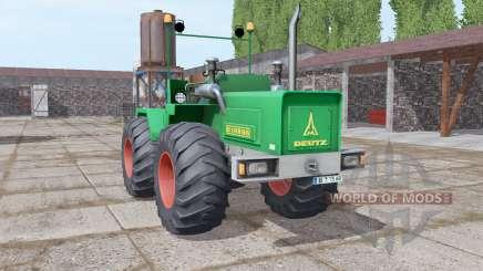 Deutz D 160 06 1972 for Farming Simulator 2017