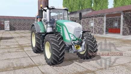 Fendt 927 Vario real sounds v1.4 for Farming Simulator 2017