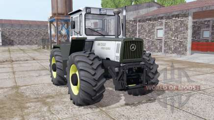 Mercedes-Benz Trac 1400 Turbo light grayish for Farming Simulator 2017
