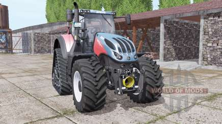 Steyr Terrus 6770 CVT crawler modules for Farming Simulator 2017