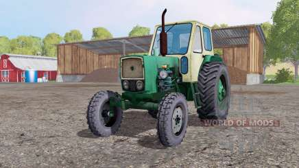 UMZ 6L light gray-yellow for Farming Simulator 2015