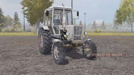 MTZ Belarus 82.1 light grey orange for Farming Simulator 2013