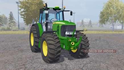 John Deere 7530 Premium green for Farming Simulator 2013