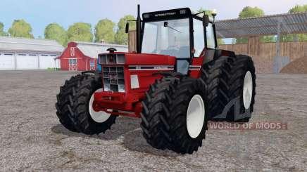International 1255 twin wheels for Farming Simulator 2015