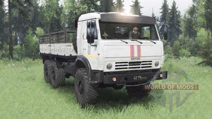 KamAZ 5350 MES v1.2 for Spin Tires
