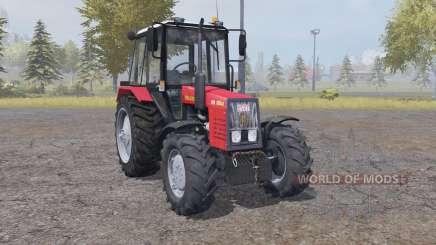 MTZ Belarus 820.4 moderately red for Farming Simulator 2013
