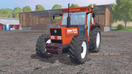 New Holland 110-90 orange for Farming Simulator 2015