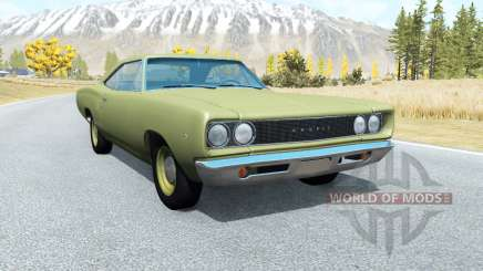 Dodge Coronet hardtop (WH-23) 1968 v3.0 for BeamNG Drive
