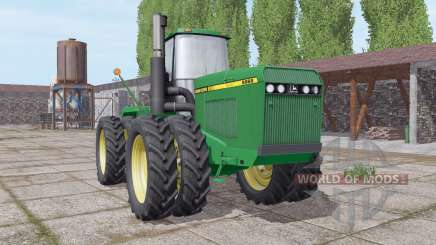 John Deere 8960 narrow twin wheels for Farming Simulator 2017
