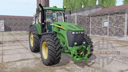 John Deere 7920 dark lime green for Farming Simulator 2017
