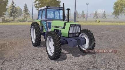 Deutz-Fahr AX 4.120 narrow wheels for Farming Simulator 2013
