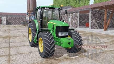 John Deere 7430 Premium michelin tires for Farming Simulator 2017