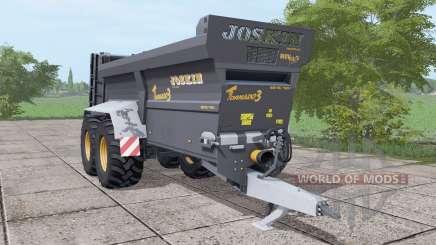 JOSKIN Tornado3 black for Farming Simulator 2017