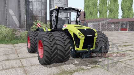 CLAAS Xerion 4500 twin wheels for Farming Simulator 2017