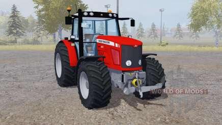 Massey Ferguson 6475 red for Farming Simulator 2013