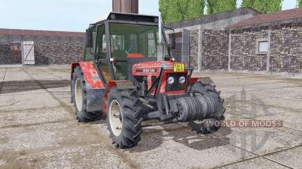 Zetor 7045 soft red for Farming Simulator 2017