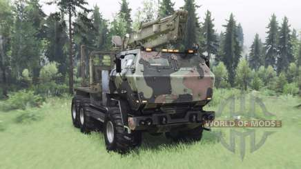 FMTV Himars 6x6 2006 custom for Spin Tires