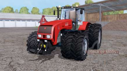 Belarus 3522 dual wheels for Farming Simulator 2015