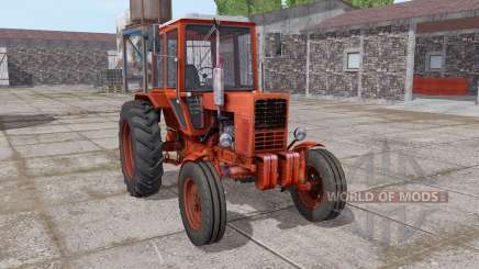MTZ 80 Belarus is moderately red for Farming Simulator 2017