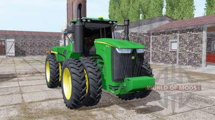 John Deere 9470R twin wheels for Farming Simulator 2017