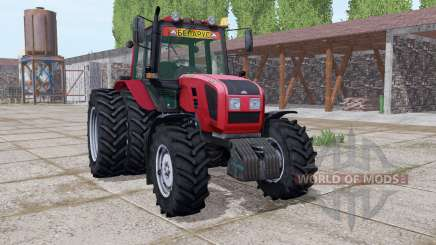 Belarus 1220.3 dual wheels for Farming Simulator 2017